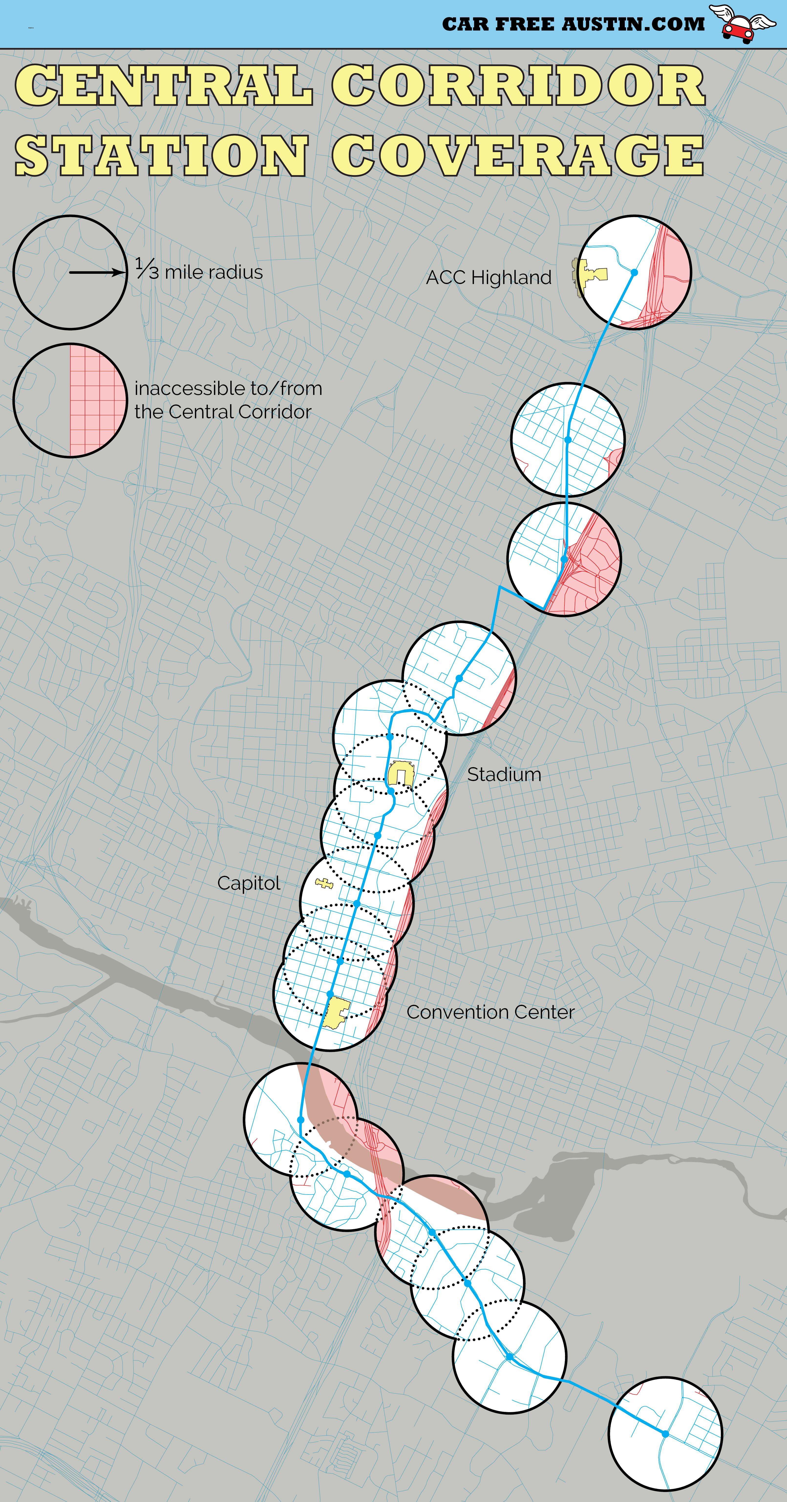 How Austin Votes On Prop 1 Rail By Area  Austin