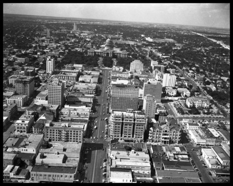 AUSTIN_1959 aerial 1 CONGRESS ZOOM